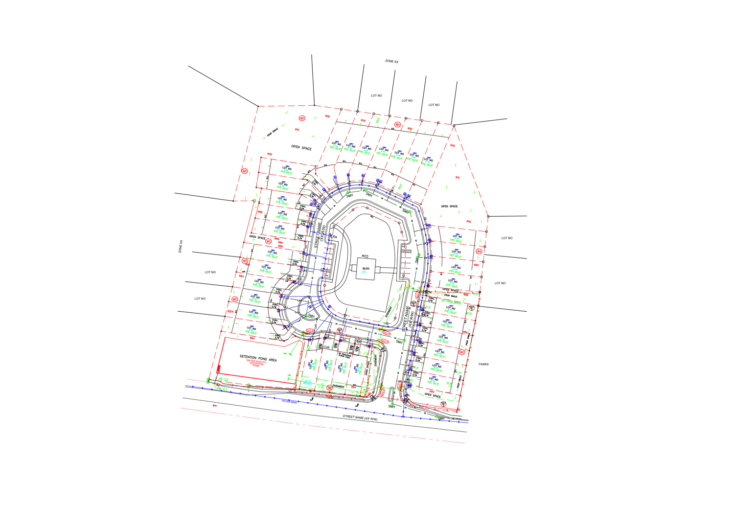 Drafting Services : Boundary, ALTA , Route, Topographic Surveys | CAD Drawings